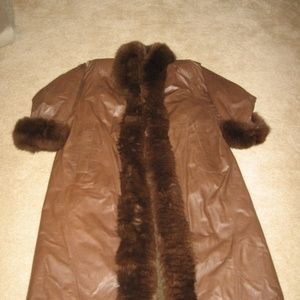 Yves Saint Laurent Fur Coat